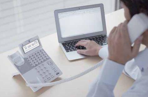 電話機(ビジネスホン)
